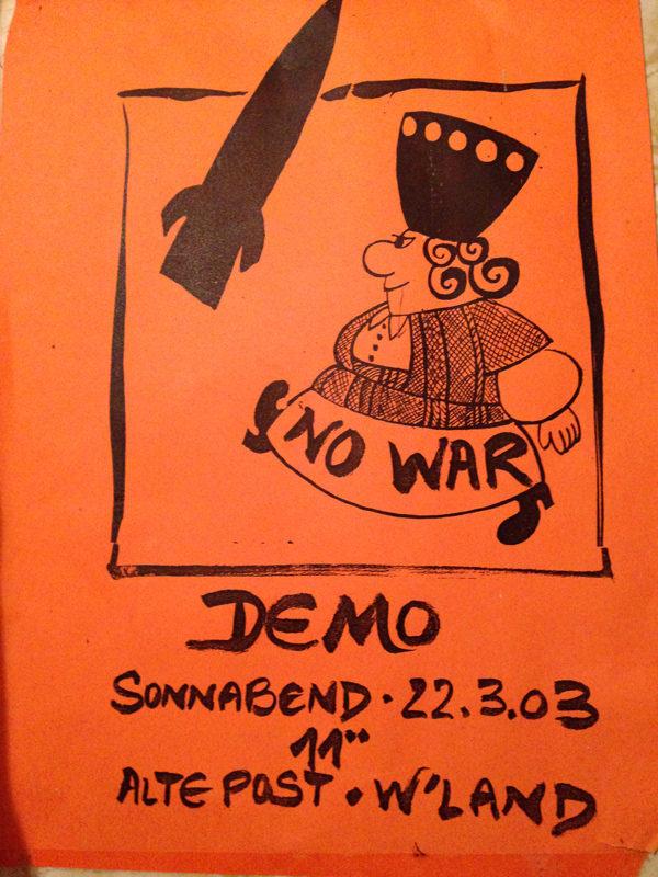 Merret 'No War'