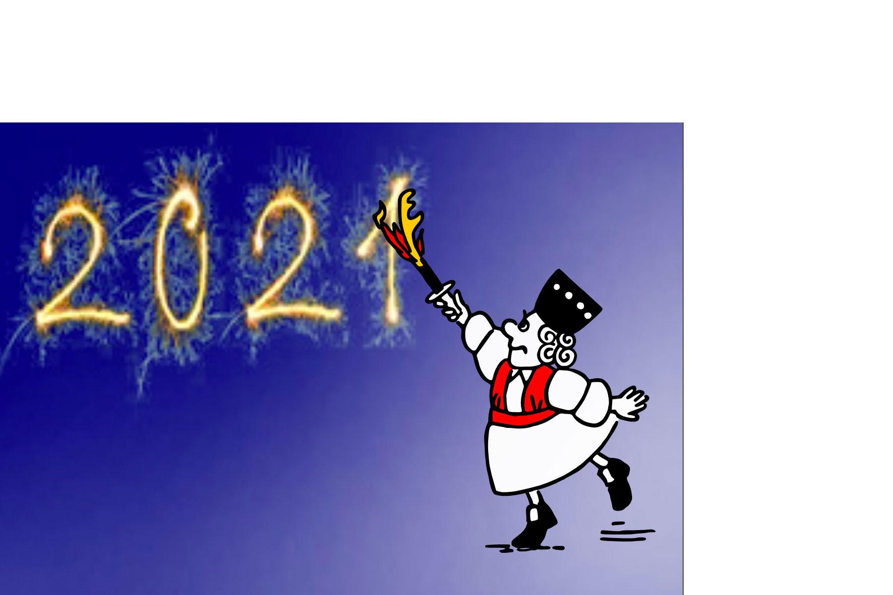 Merret wünscht allen Syltern und ihren Gästen ein gutes neues Jahr 2021