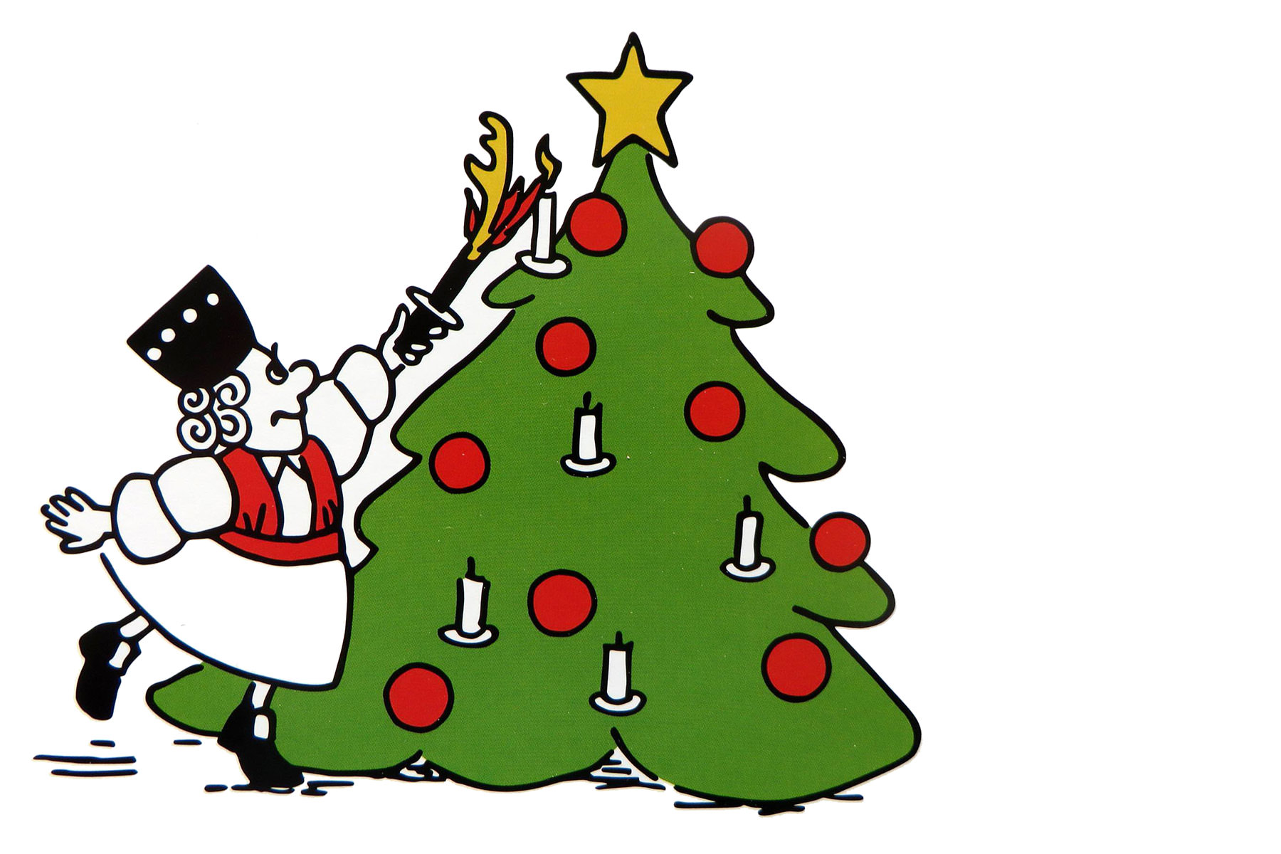 Merret wünscht frohe Weihnachten